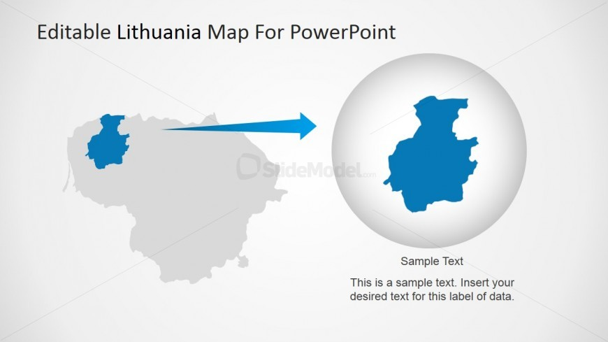 PowerPoint Individual State Highlighted