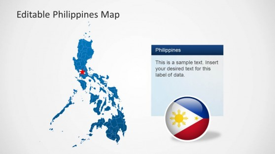 Philippines Map PPT Template
