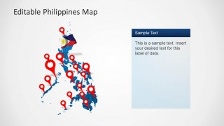 PowerPoint Template of Philippines Map