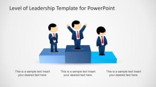 Cartoons Leadership Picture for PowerPoint