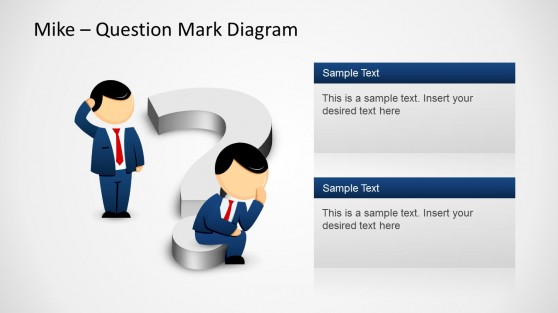 Mike Question Diagram Design for PowerPoint
