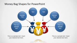 PowerPoint Clipart Yen Money Bags Shapes