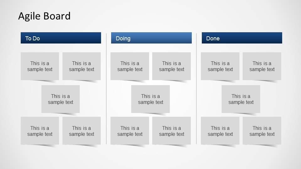 3d Agile Scrum Powerpoint Diagram Slidemodel