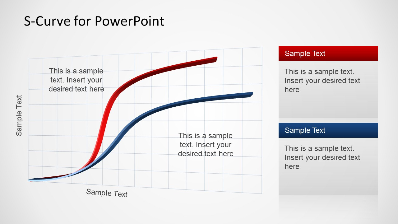 creative s-curve template for powerpoint
