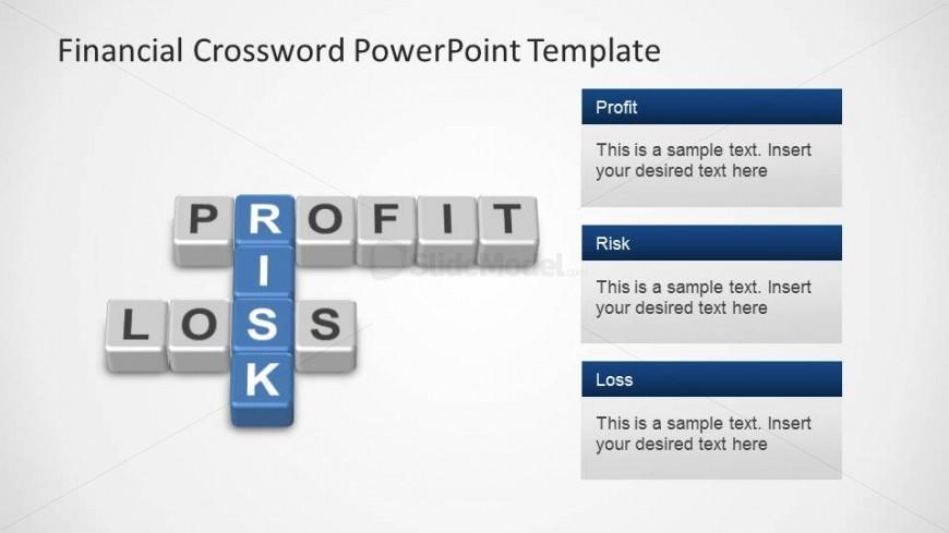 Profit, Loss and Risks Corssword