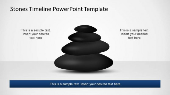 Stones Timeline & Planning PowerPoint Shapes