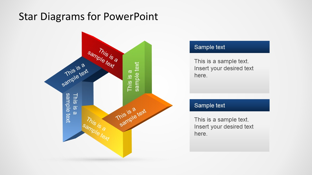 Star Powerpoint Template Mandegarfo