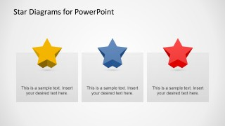 3D Star Diagrams for PowerPoint