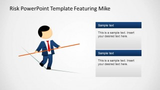 Mike Walking the Tightrope with Textboxes