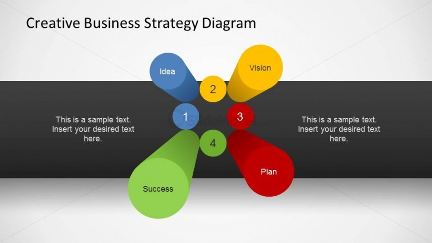 Business strategy 3d pillars diagram for powerpoint slidemodel business strategy 3d pillars diagram for powerpoint friedricerecipe