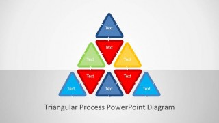 Triangular PowerPoint Process Diagram