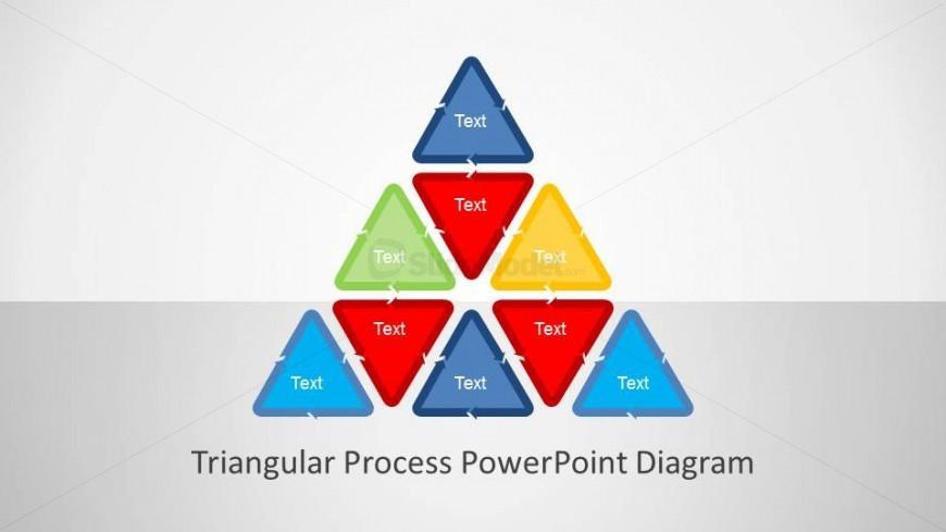 Triangular PowerPoint Process Diagram