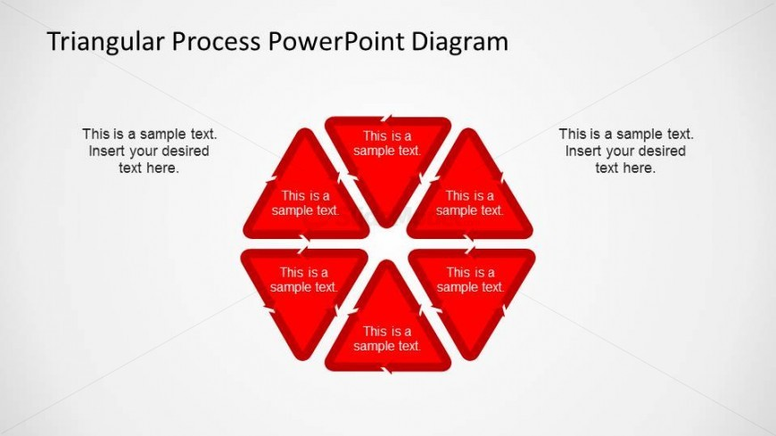 Hexagonal Process Flow PowerPoint Diagrams