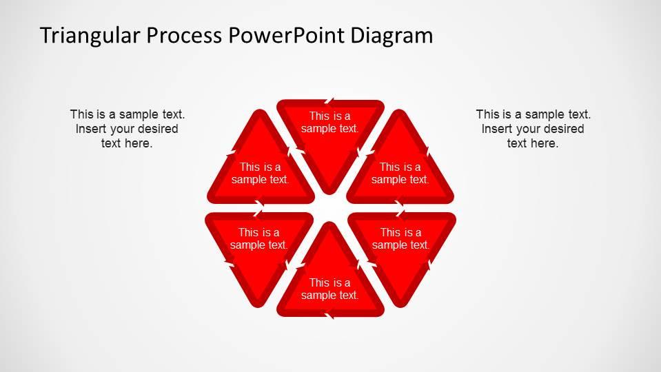 Hexagonal Process Flow PowerPoint Diagrams