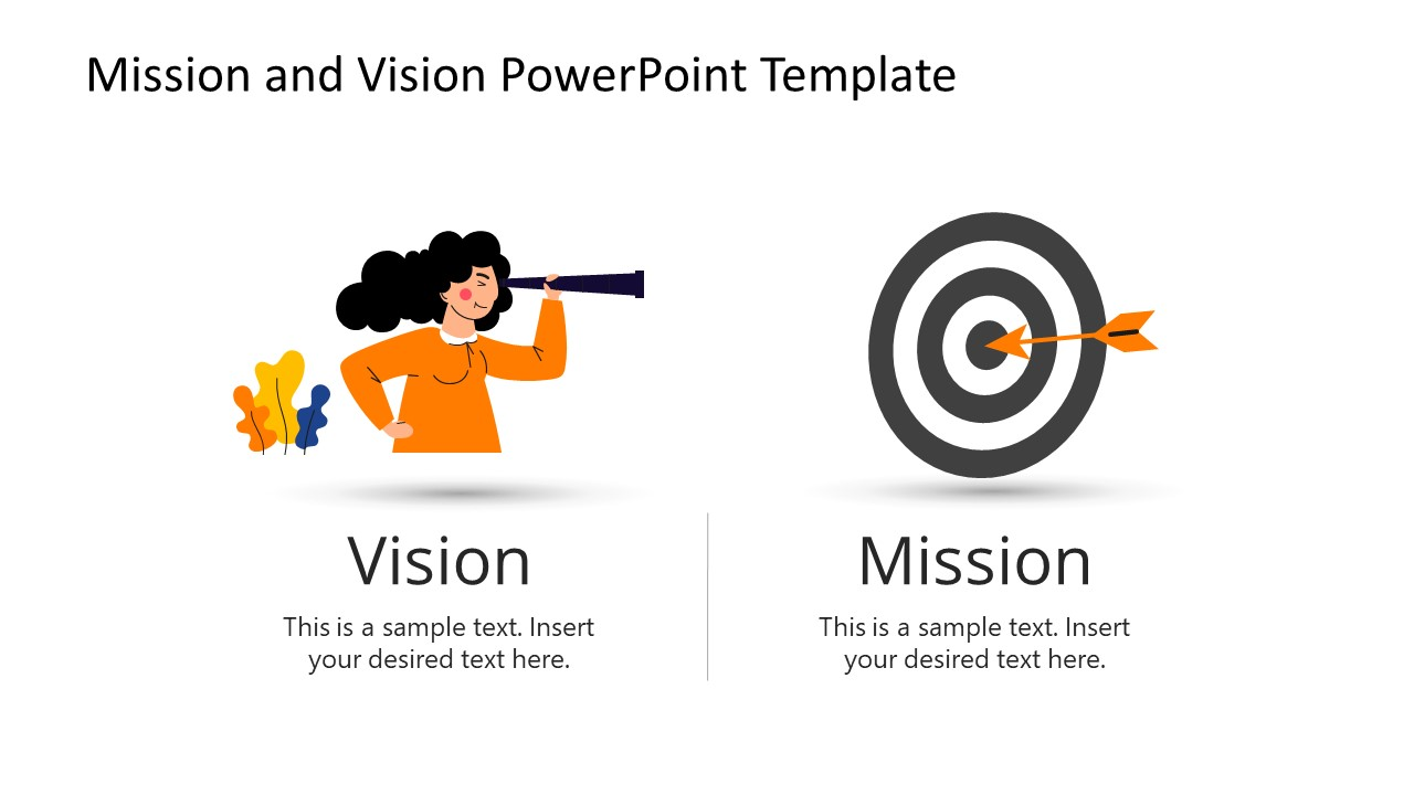 PowerPoint Templates of Vision and Mission