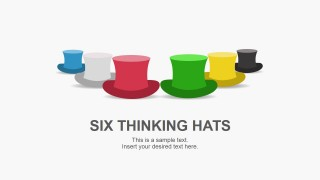 Six Thinking Hat Shapes for PowerPoint
