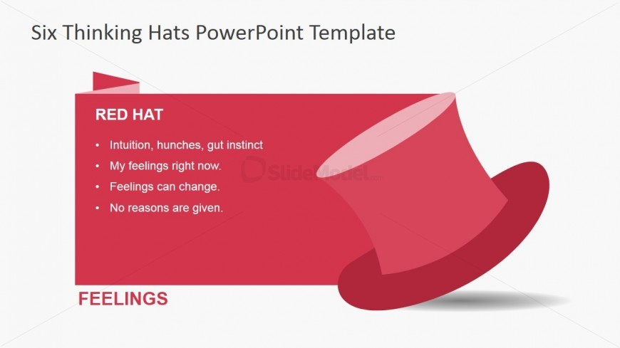 Red thinking hat for powerpoint slidemodel red thinking hat for powerpoint thecheapjerseys Choice Image