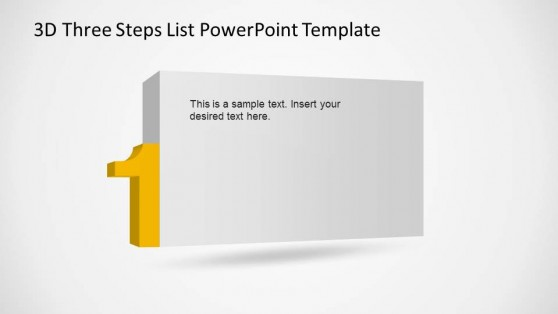 Step 1 PowerPoint List Description