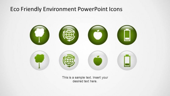 Environmental Theme 3D PowerPoint Icons