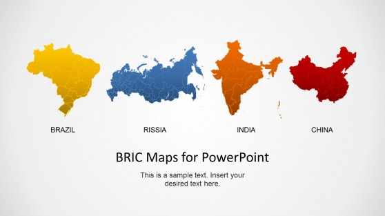 Russia powerpoint templates bric maps template for powerpoint toneelgroepblik Images