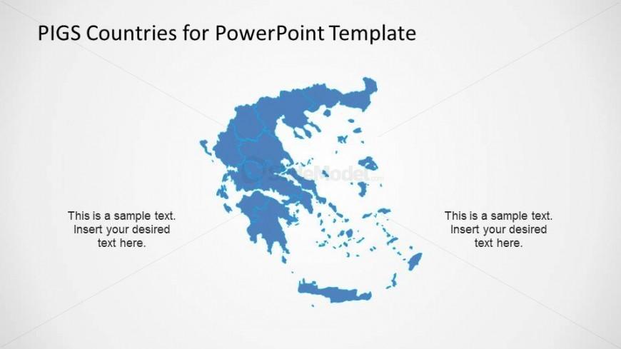 Greece Political Outline Map