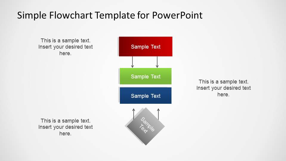 Flow Chart Template In Powerpoint