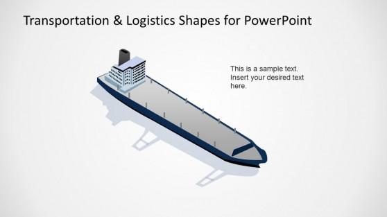 Empty Vessel Illustration for PowerPoint