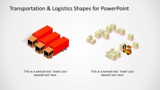 Transportation & Logistics Shapes for PowerPoint - SlideModel