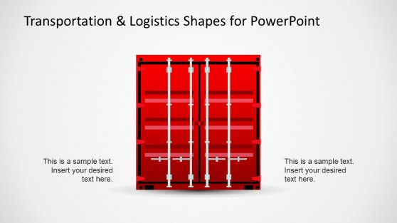 Container Illustration for PowerPoint