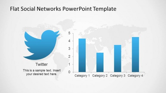 Twitter Usage Indicators PowerPoint Slide