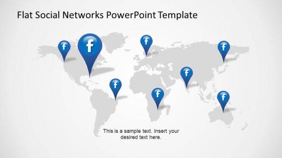 Facebook world presence indicators