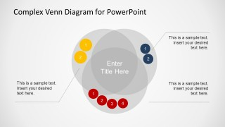 Complex Venn Diagram Design for PowerPoint