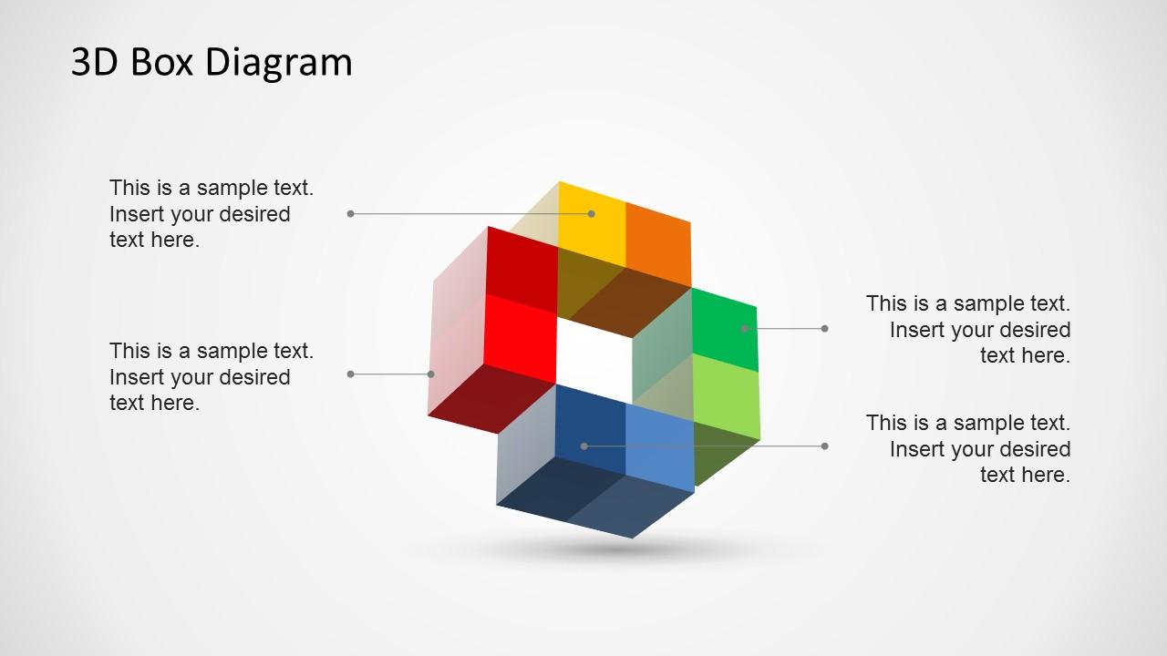 PowerPoint 3D Cross Design