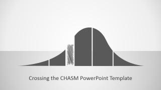 PowerPoint Segmented Adoption Curve Icon
