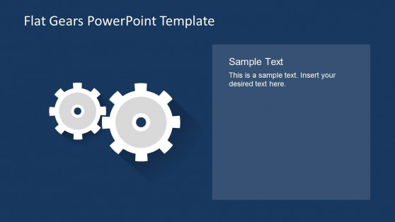 2 Editable Gear Graphics for PowerPoint Presentations