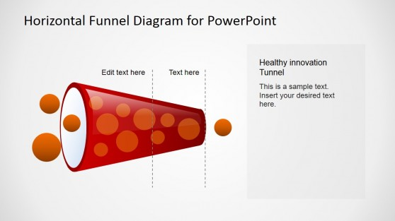 Horizontal Healthy Funnel Diagram