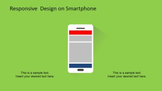 PowerPoint Slide Responsive Devices Clipart of Smartphone