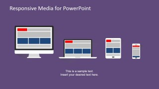 PowerPoint Responsive Devices Clipart from Desktop to Smartphone