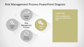 PowerPoint Risk Management Process Control Step