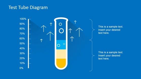 Test Tube PowerPoint Slide for Medical Presentation