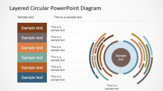 Professional PowerPoint Templates for Circular Diagrams