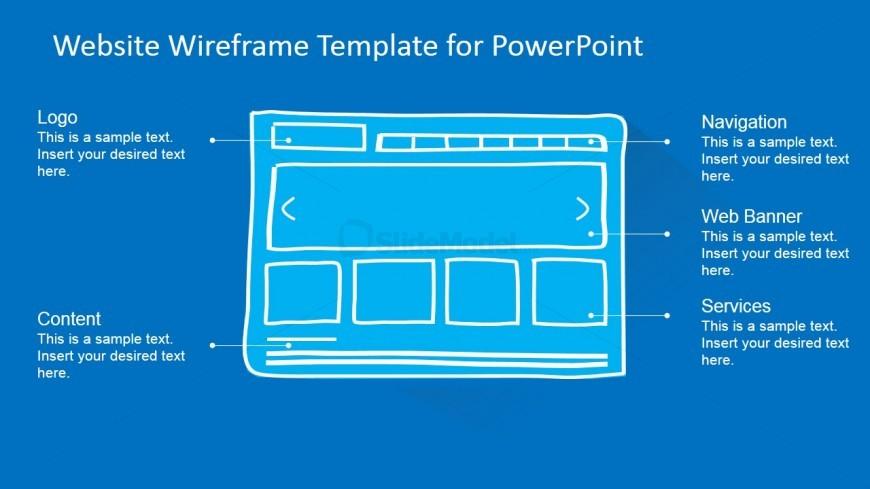 PowerPoint Landscape Homepage Mockup