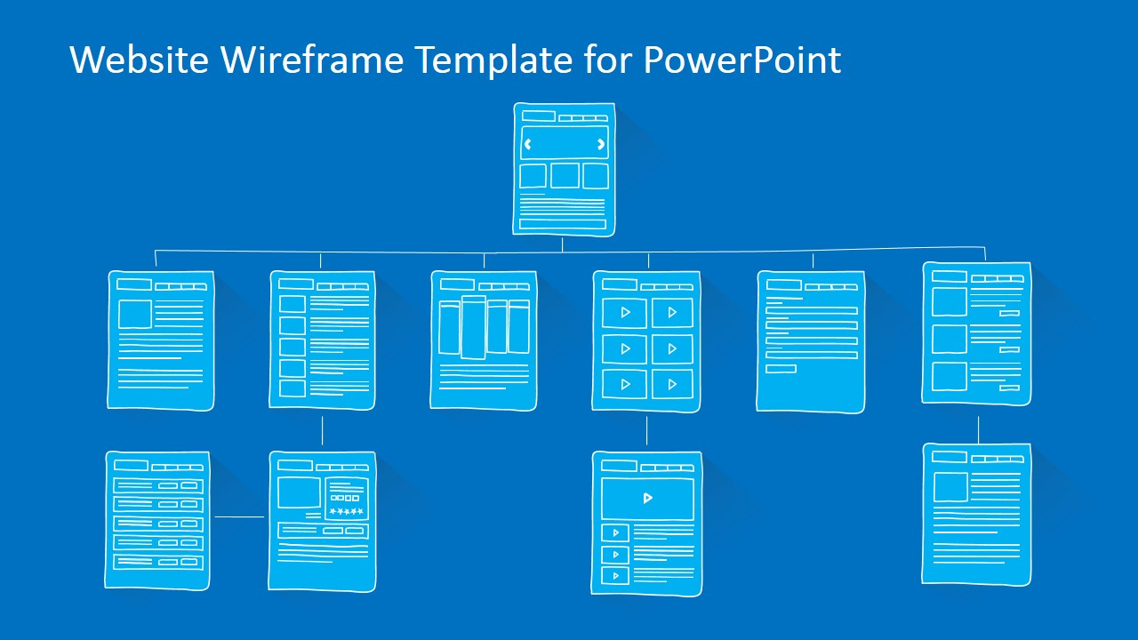 Website sitemap powerpoint template slidemodel pronofoot35fo Images