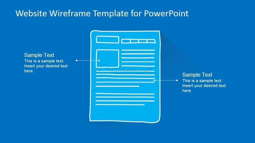 PowerPoint Services Description Mockup Webpage