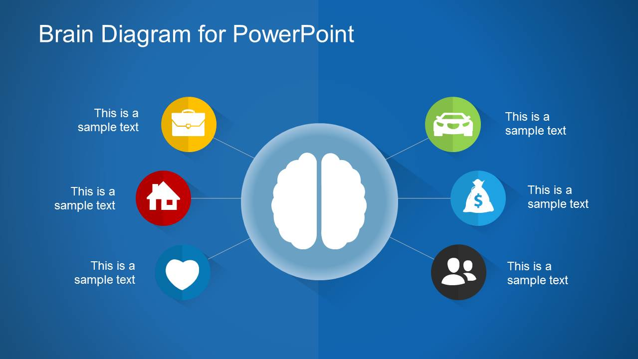 Brain Diagram PowerPoint Template