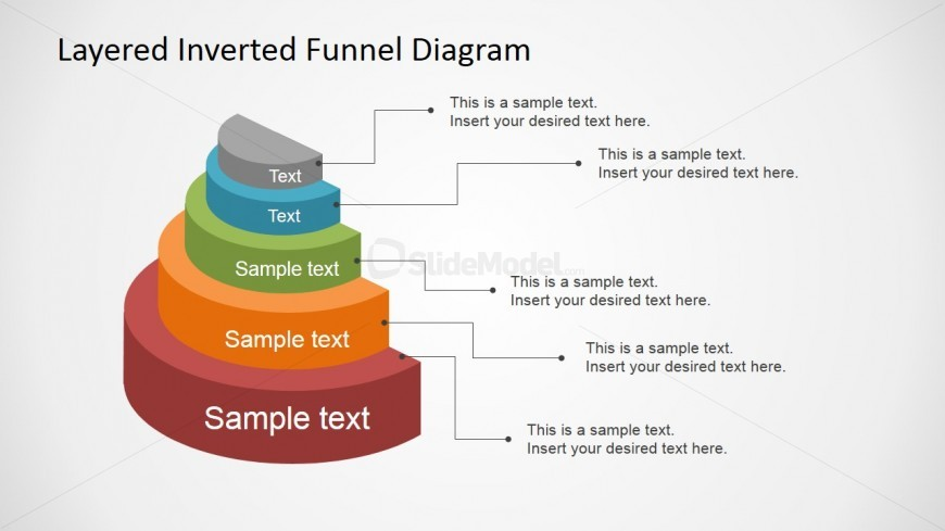 Fully Editable PowerPoint Funnel Diagram Template