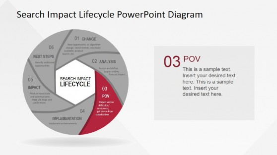 Point Of View Stage for the Search Impact Lifecycle Process