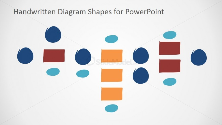 Draggable PowerPoint Shapes for Tree Diagrams