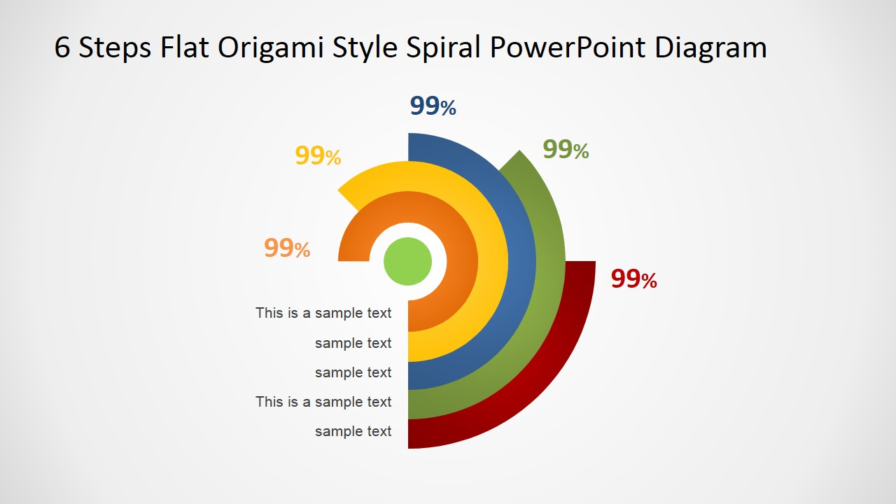 Origami Slide for PowerPoint