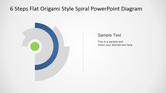 Spiral Origami Innovative PowerPoint Design